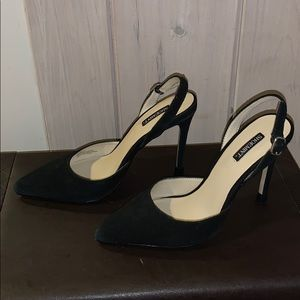 Suede D'orsay pumps. EUC. Worn once or twice.